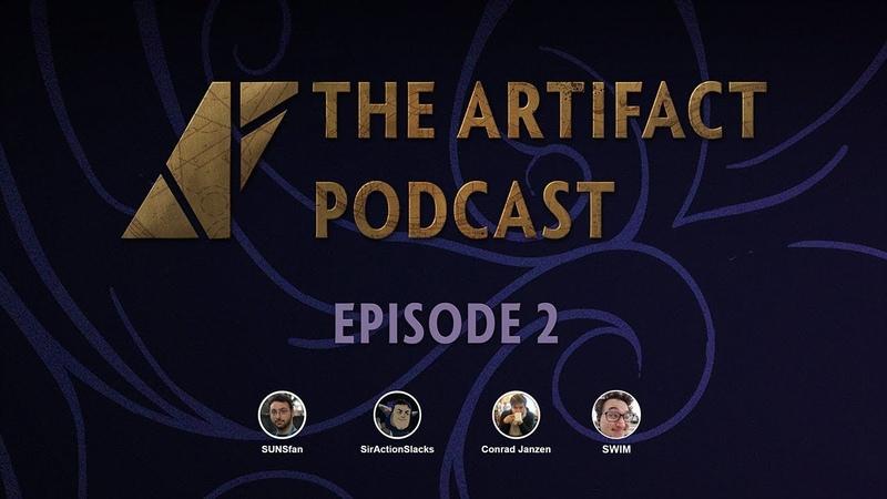 The Artifact Podcast Ep. 2 - SUNSfan, Slacks, Conrad Swim
