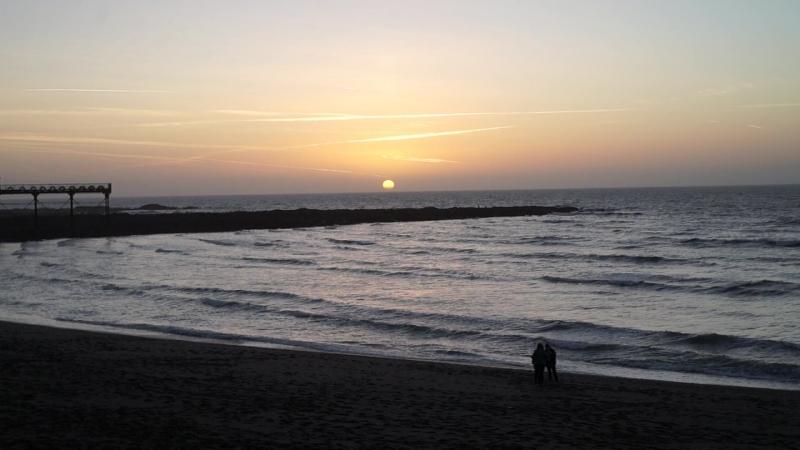 My mood... Aberystwyth. Wales. Sunset at Irish sea