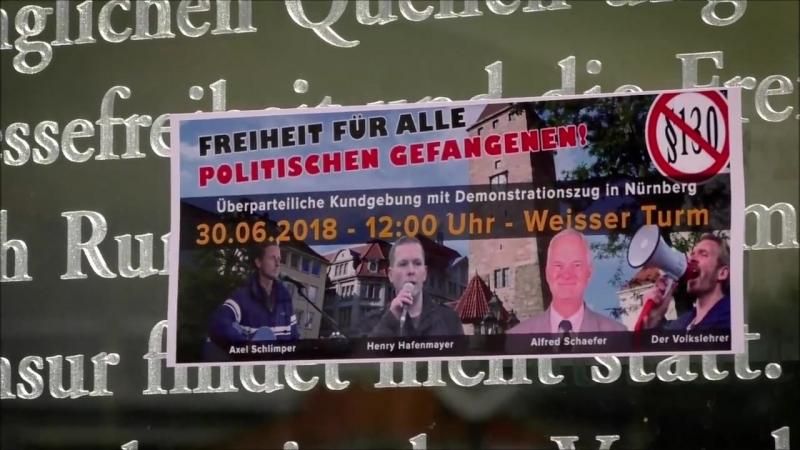 Nach Nürnberg am 30.6. 12 Uhr! Für die Freilassung aller politischen Gefangenen! | Der Volkslehrer