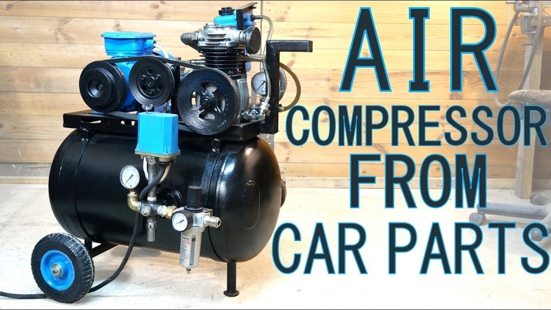 AIR COMPRESSOR FROM CAR TRUCK PARTS