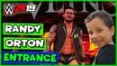WWE 2K19 Randy Orton Entrance (With WWE 2K19 Randy Orton Theme Song)
