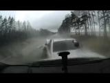 Водитель вылетел из машины после ДТП