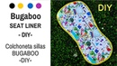Colchoneta BUGABOO para sillas paseo Patrón PDF FÁCIL
