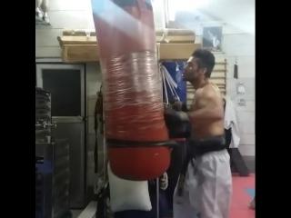 СФП - Мешок - Резина - Ударка в подготовке бойцов Кёкусинкай карате. Подготовка бойца. https://vk.com/oyama_mas