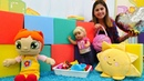 Ayşe Gül ve Lili'ye yeni oyuncak aldı! Rengarenk küplerle odayı canlandıralım! Çocuk oyunları