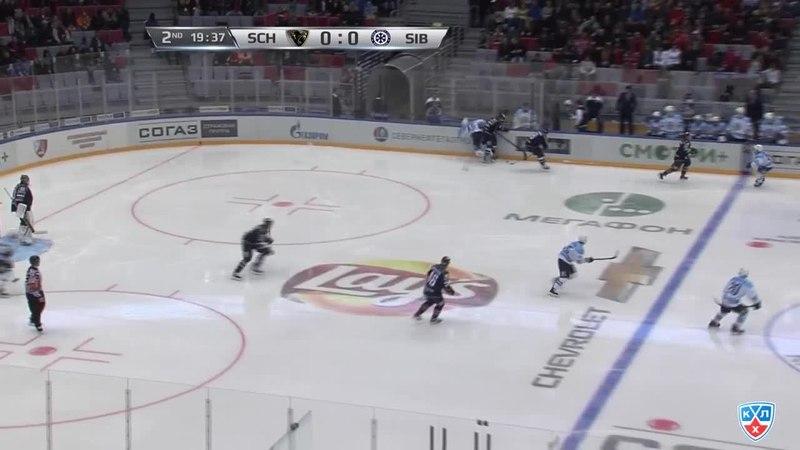 Моменты из матчей КХЛ сезона 14 15 Гол 1 0 Илья Крикунов Сочи открыл счёт в матче 06 02
