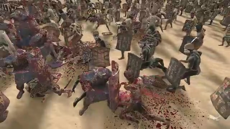 ✞ Засада для римских легионеров ✞ Сражение в пустыне ✞.mp4