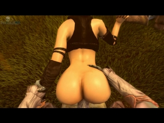 vk.com/watchgirls Rule34 Dragon Age Morrigan sfm 3D porn monster