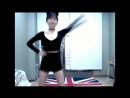 Asian Cat Girl Dances Friviously