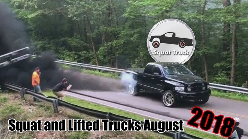 Squat and Lifted Trucks August 2018