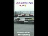 KivancTatlitug NEW - Video Kıvanç Tatlıtuğ tuzla karting park instagram story