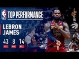 LeBron James EPIC Game 2 Performance In Toronto