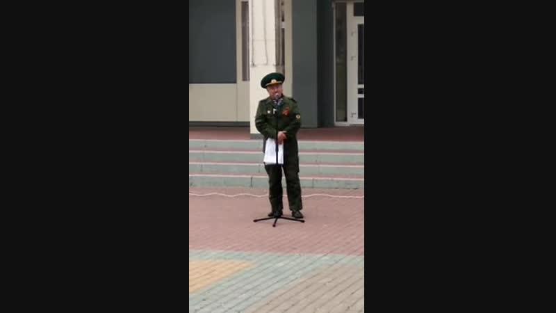 Акция против оккупации России в Белгороде