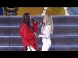 Halsey & Lauren Jauregui - 'Strangers' live on 'GMA'