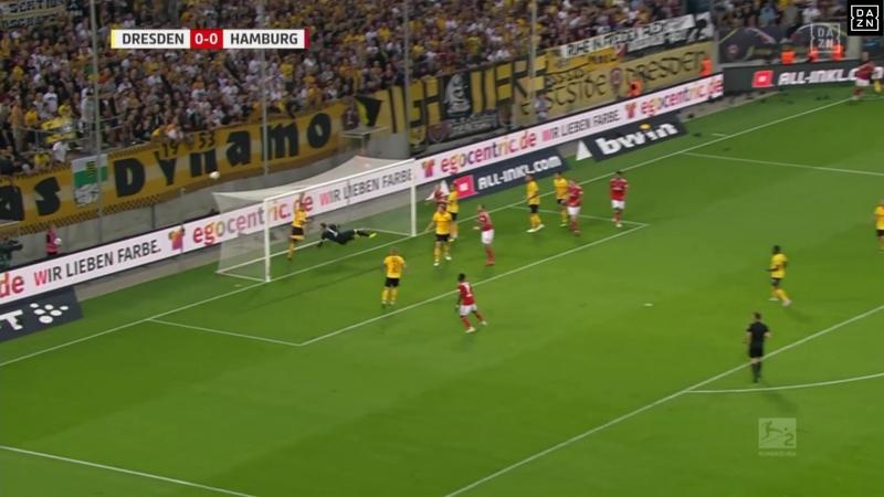 Германия - Вторая Бундеслига. 4-й тур. Динамо Др – Гамбург. 18.09.2018