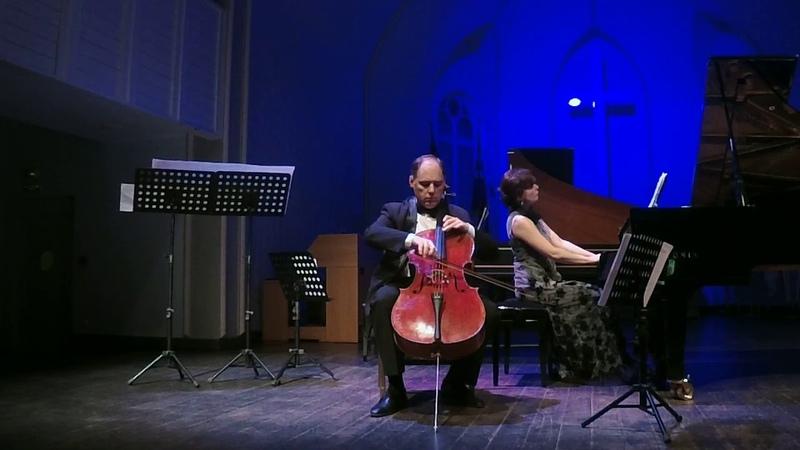 Шуман. Три фантастические пьесы для виолончели и фортепиано ор.73