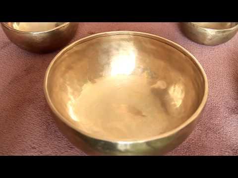 Bol Chantant traditionnel Tibétain Superbe sonorité