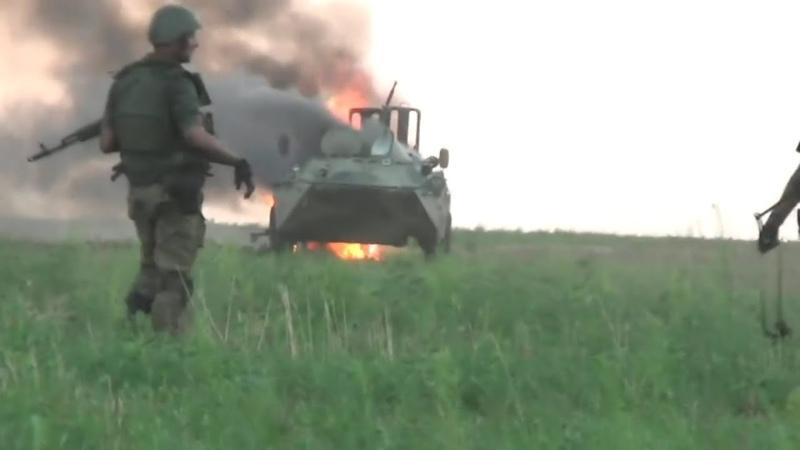 Ukraine War - Failed Pro-Russian Attack: Combat Footage Caught In Open Field