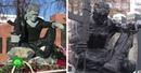 В Башкирии разразился скандал из за похожего на Халка памятника