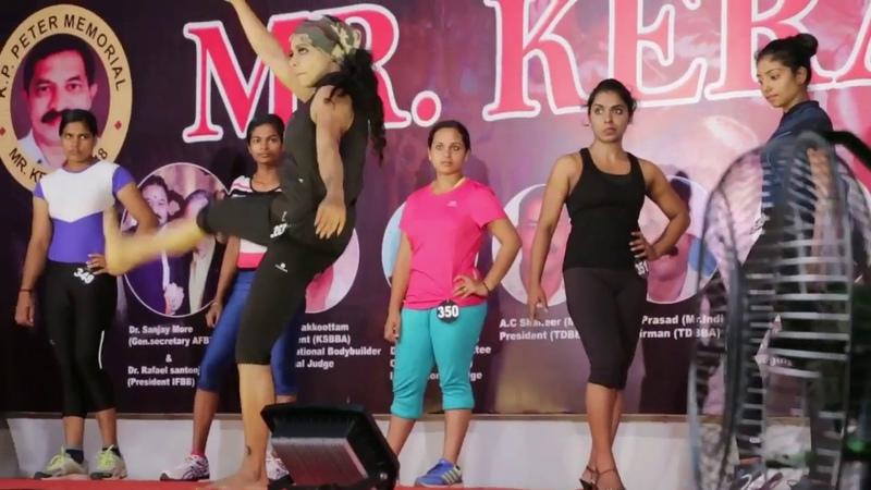 Women's PHYSIQUE MR KERALA 2018 Champion SRERYA IYER television anchor