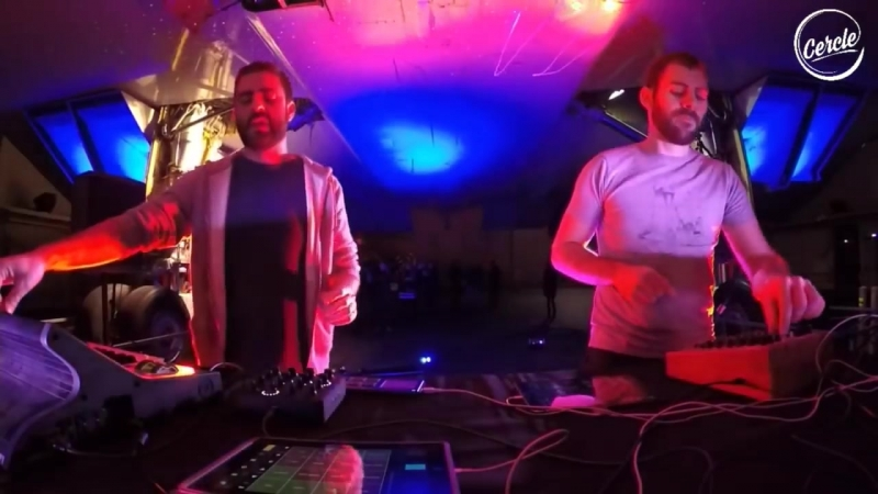 Sinners (Nto _u0026 Joachim Pastor) launch @ Concorde for Cercle