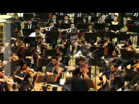 "Beethoven - Sinfonia n.º 5 ""Mov.1"" Juan Tucán Franco Orquesta Sinfonica Juvenil Carlos Chavez"