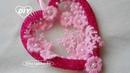 Валентинка из фома своими руками МК2/ DIY Valentines Foam/PAP Tutorial do Dia dos Namorados202