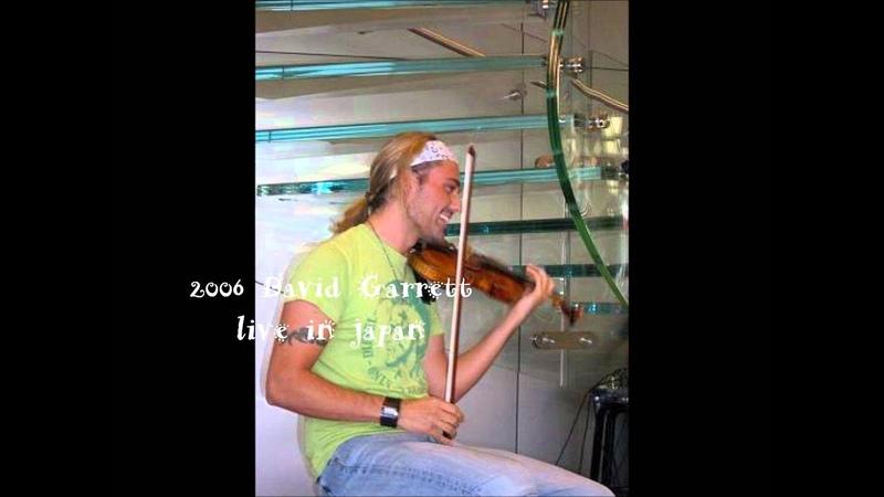 [LIVE] 2006 David Garrett NONE BUT THE LONELY HEART