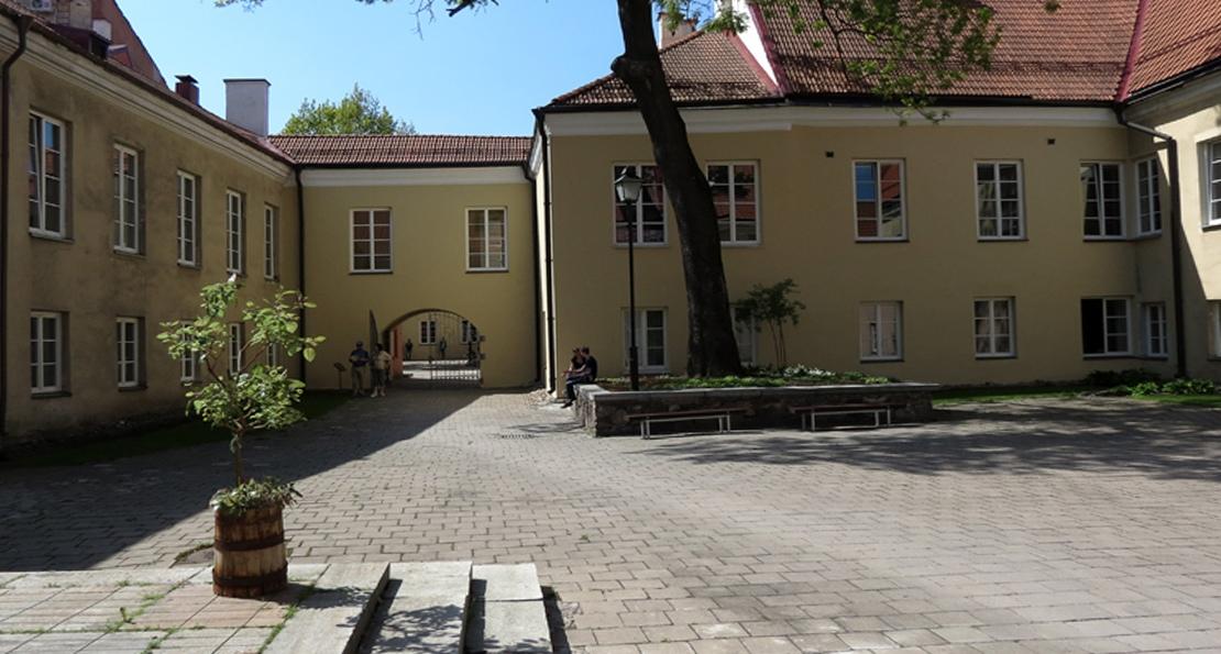 Дворик университета в Вильно