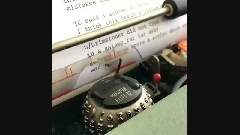 Печатная машинка IBM Selectric