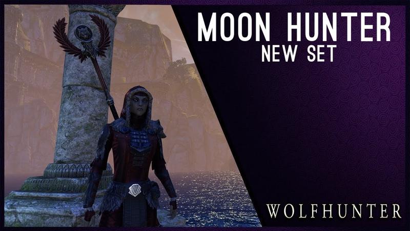 Moon Hunter Set Light Armor - Wolfhunter DLC ESO