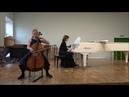 И Х Бах Концерт c moll 1 часть Батищева Полина ДМШ им А Д Артоболевской