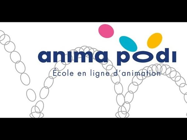 ANIMA PODI teaser du MOOC dédié à lanimation 3D de la e-académie de GOBELINS