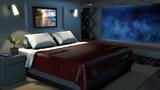 Spaceship Bedroom White Noise Sleep, Study, Focus 10 Hours Space Sound