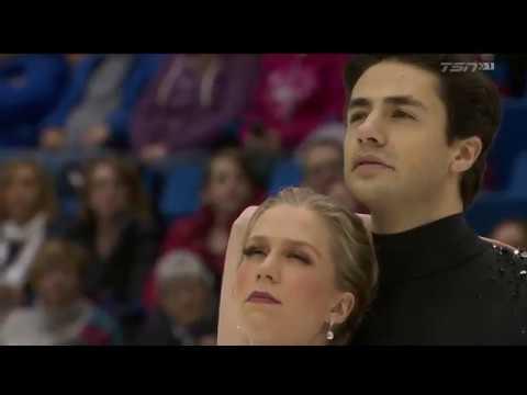 Кейтлин Уивер/Эндрю Поже, ПТ, Чемпионат Канады 2019