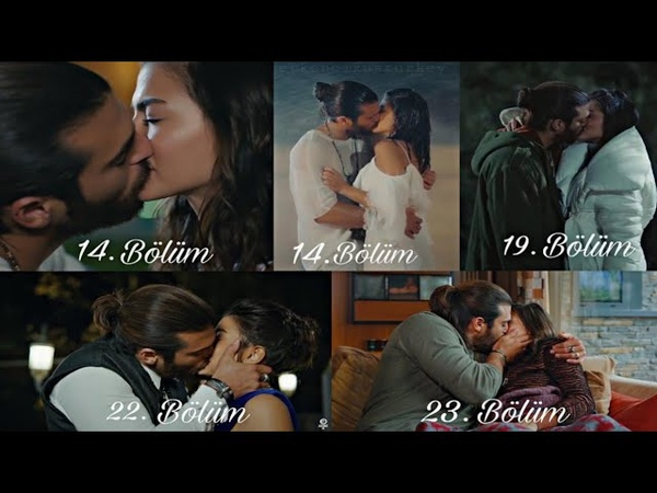 Can Yaman love, kisss romantic endless moments with Demet Ozdemir (Erkenci kus)