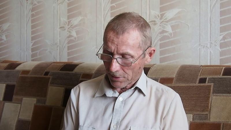Виктор Павлович Архиреев читает начало Нагорной проповеди (Заповеди блаженства) на карельском языке