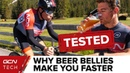 Why A Beer Belly Actually Makes You Faster