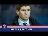 REACTION Steven Gerrard Rangers 0-1 Aberdeen