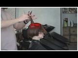 короткая женская стрижка с помощью техник: слои, градация, дисконекция