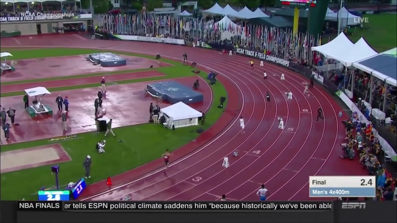 USC Men's 4x400 NCAA Record 2018 NCAA Outdoor Championships