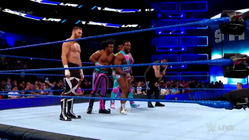 WWE The Shield Invades SmackDown Live 11-14-17 HD