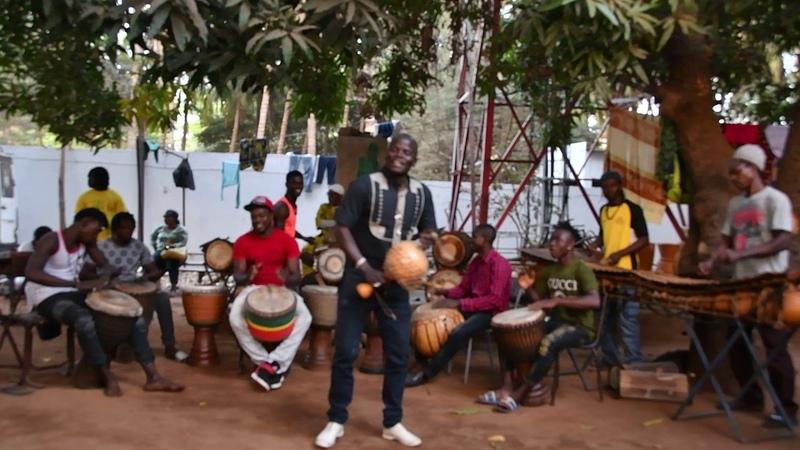 Bwazan at Maison des Jeunes, Bamako, Mali, Feb 2018 6-0596