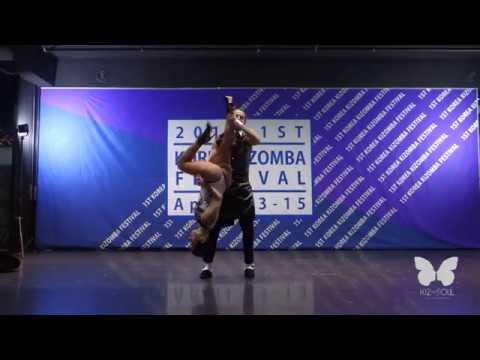 Guiu and Borboleta. Kiz SOUL. Show kizomba 1st Korea kizomba