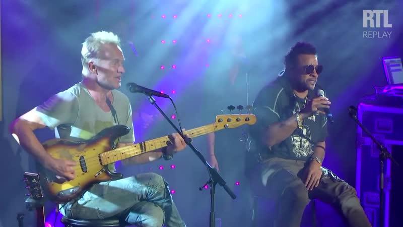 Sting Shaggy - Every Breath You Take (Live) Le Grand Studio RTL