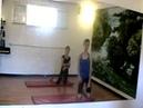 Урок 22. Колесо на локтях. Элементы акробатики