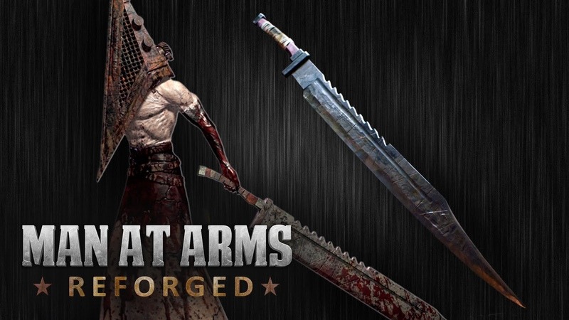 Pyramid Heads Great Knife (Silent Hill) - MAN AT ARMS REFORGED
