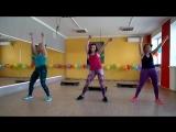 Группа ИНТЕРВАЛЬНАЯ ТРЕНИРОВКА: степ-аэробика + танец типа зумбы