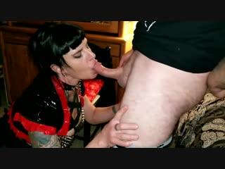 Cheating slut wife sucks friends cock hands free 2 ruined orgasms