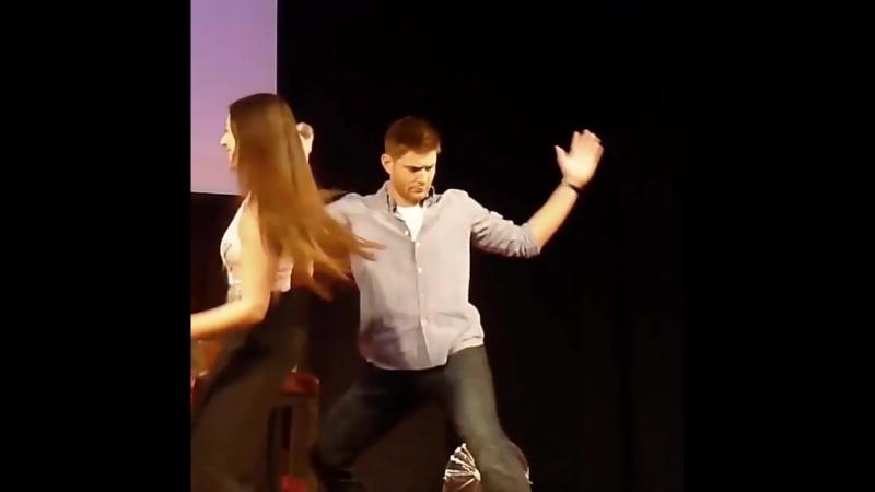 Танцуй пока молодой Дженсен!